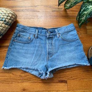 Levi's 501 Denim Button Fly Shorts